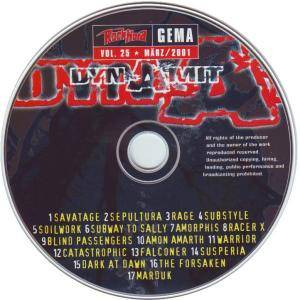Rock Hard - Dynamit Vol. 25 (CD) - Bild 3