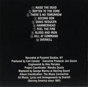 Overkill: Feel The Fire (CD) - Bild 2