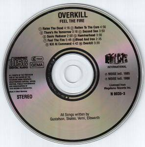 Overkill: Feel The Fire (CD) - Bild 4