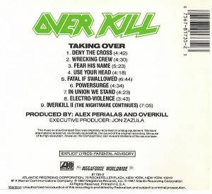 Overkill: Taking Over (CD) - Bild 3