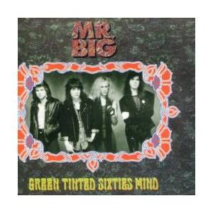 Mr. Big: Green Tinted Sixties Mind - Cover