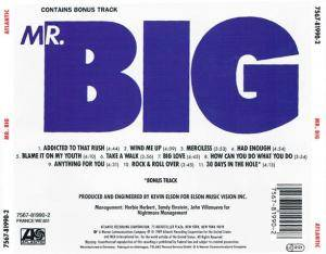 Mr. Big: Mr. Big (CD) - Bild 4
