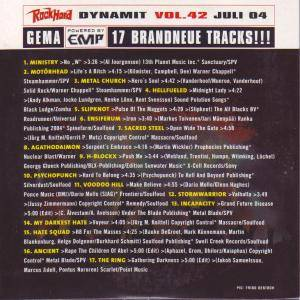 Rock Hard - Dynamit Vol. 42 (CD) - Bild 2
