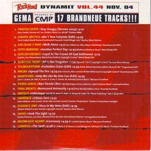 Rock Hard - Dynamit Vol. 44 (CD) - Bild 2