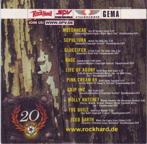 Rock Hard - SPV: 20 Years of Solid Rock (CD) - Bild 2