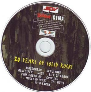 Rock Hard - SPV: 20 Years of Solid Rock (CD) - Bild 3