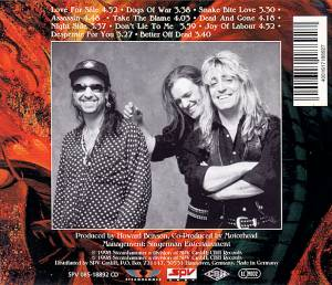 Motörhead: Snake Bite Love (CD) - Bild 3
