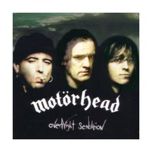 Motörhead: Overnight Sensation - Cover