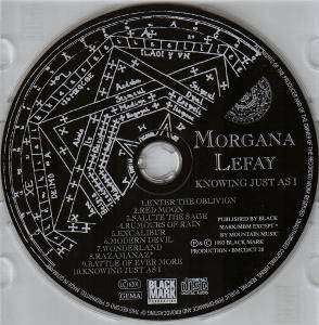 Morgana Lefay: Knowing Just As I (CD) - Bild 4