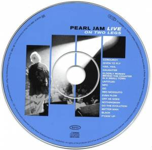 Pearl Jam: Live On Two Legs (CD) - Bild 3