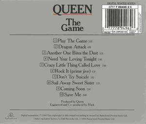 Queen: The Game (CD) - Bild 2