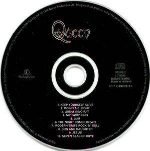 Queen: Queen (CD) - Bild 3