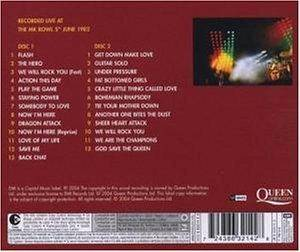 Queen: Queen On Fire - Live At The Bowl (2-CD) - Bild 2