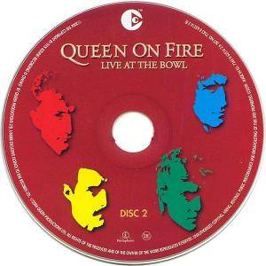 Queen: Queen On Fire - Live At The Bowl (2-CD) - Bild 4