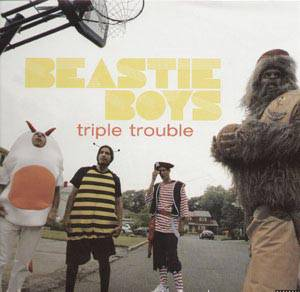 Beastie Boys: Triple Trouble - Cover
