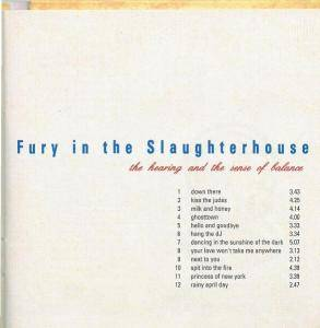 Fury In The Slaughterhouse: The Hearing And The Sense Of Balance (CD) - Bild 4
