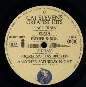 Cat Stevens: Greatest Hits (LP) - Bild 2