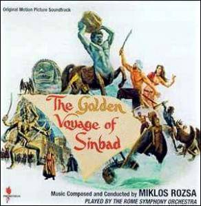 Miklós Rózsa: Golden Voyage Of Sinbad, The - Cover