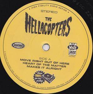 "The Hellacopters: Move Right Out Of Here (10"") - Bild 3"
