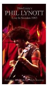 Philip Lynott: Thin Lizzy's Phil Lynott Live In Sweden 1983 - Cover