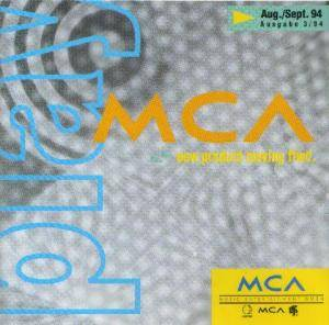 Cover - Even Cowgirls Get The Blues: Play MCA Aug./Sept. 94 New Product Moving Ffwd.