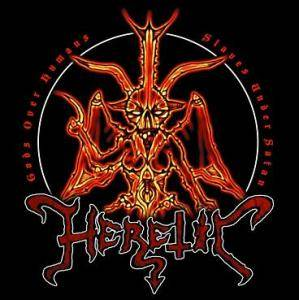 Heretic: Gods Over Humans, Slaves Under Satan - Cover
