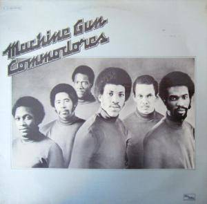 Cover - Commodores: Machine Gun