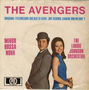 Cover - Laurie Johnson Orchestra: Avengers, The
