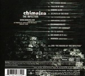 Chimaira: The Infection (CD + DVD) - Bild 2