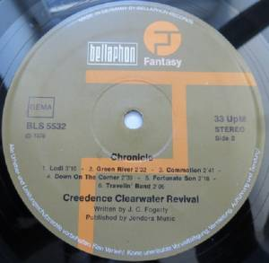 Creedence Clearwater Revival: Chronicle - The 20 Greatest Hits (2-LP) - Bild 4