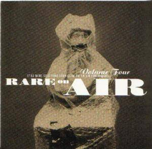 KCRW - Rare On Air Vol. 4 - Cover