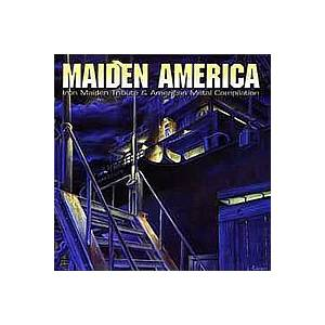 Cover - Burning Inside: Maiden America - Iron Maiden Tribute & American Metal Compilation