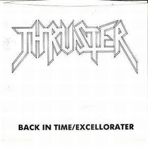 Thruster: Back In Time / Excellorater - Cover