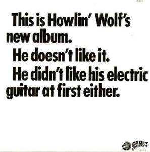 Howlin' Wolf: Howlin' Wolf Album, The - Cover