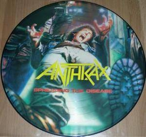 Anthrax: Spreading The Disease (PIC-LP) - Bild 1