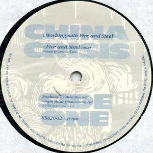 "China Crisis: Working With Fire And Steel (12"") - Bild 3"