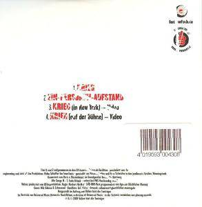 Farin Urlaub Racing Team: Krieg (Single-CD) - Bild 2