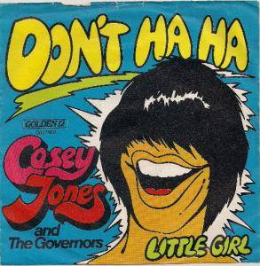 Casey Jones & The Governors: Don't Ha Ha - Cover