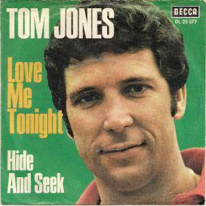 Tom Jones: Love Me Tonight - Cover