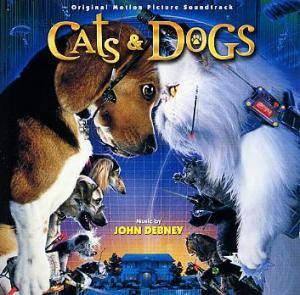 Cover - John Debney: Cats & Dogs
