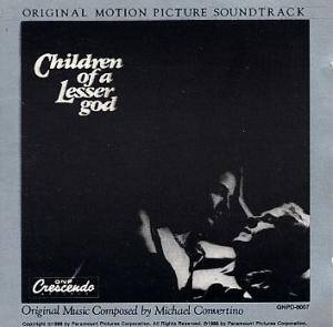 Michael Convertino: Children Of A Lesser God - Cover