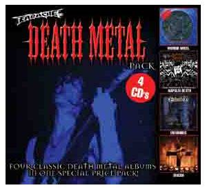 Entombed: Earache Death Metal Pack (4 CD) - Cover
