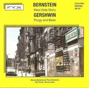George Gershwin: West Side Story / Porgy And Bess - Cover