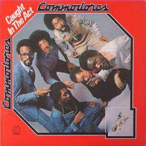 Commodores: Caught In The Act - Cover