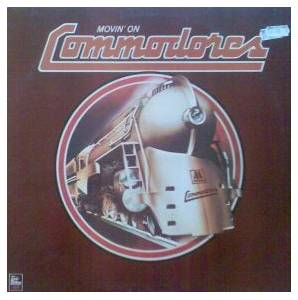 Commodores: Movin' On - Cover