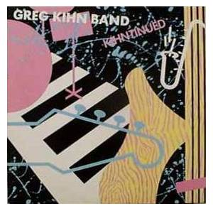 Cover - Greg Kihn Band: Kihntinued