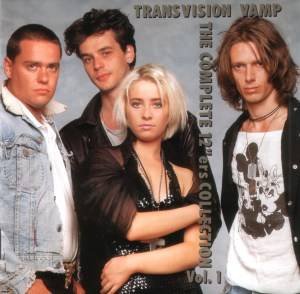 "Transvision Vamp: Complete 12""ers Collection Vol. 1, The - Cover"