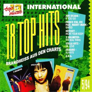 Cover - Perplexer: 18 Top Hits Aus Den Charts - 5/94