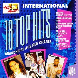 Cover - Haddaway: 18 Top Hits Aus Den Charts - 4/94