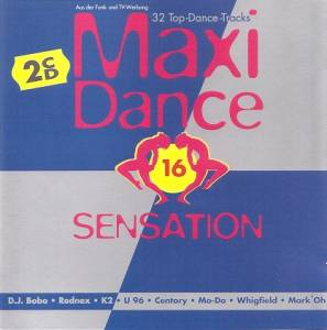 Maxi Dance Sensation 16 - Cover